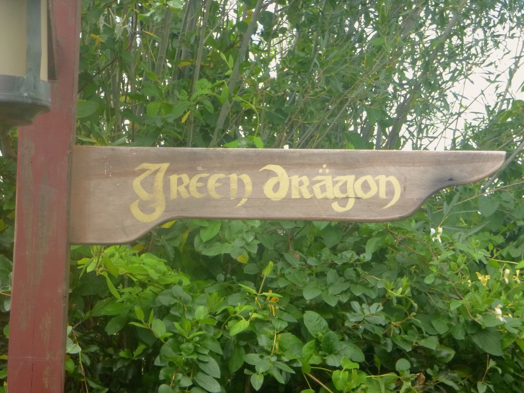 You can keep your fancy ales, you can drink 'em by the flagon, but the only brew for the brave and truuuuuue Comes from the Green Dragon!