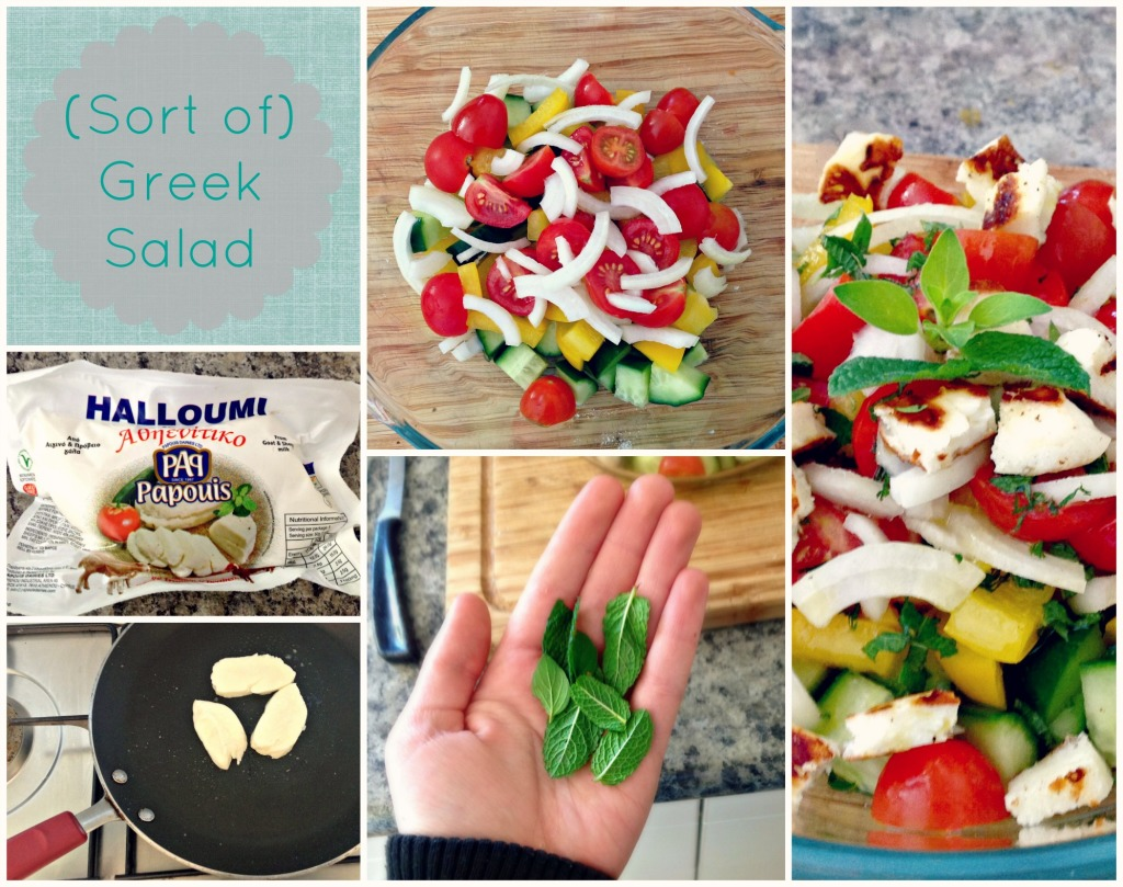 (Sort of) Greek Salad