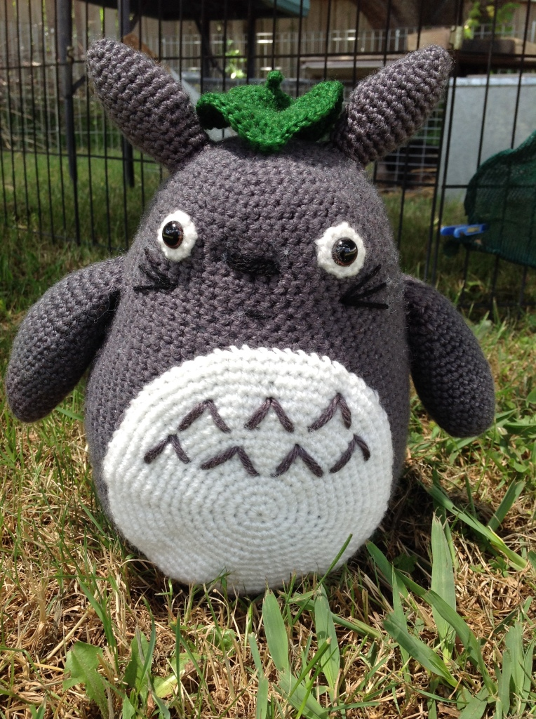 Siobhan Alice's Large Grey Totoro