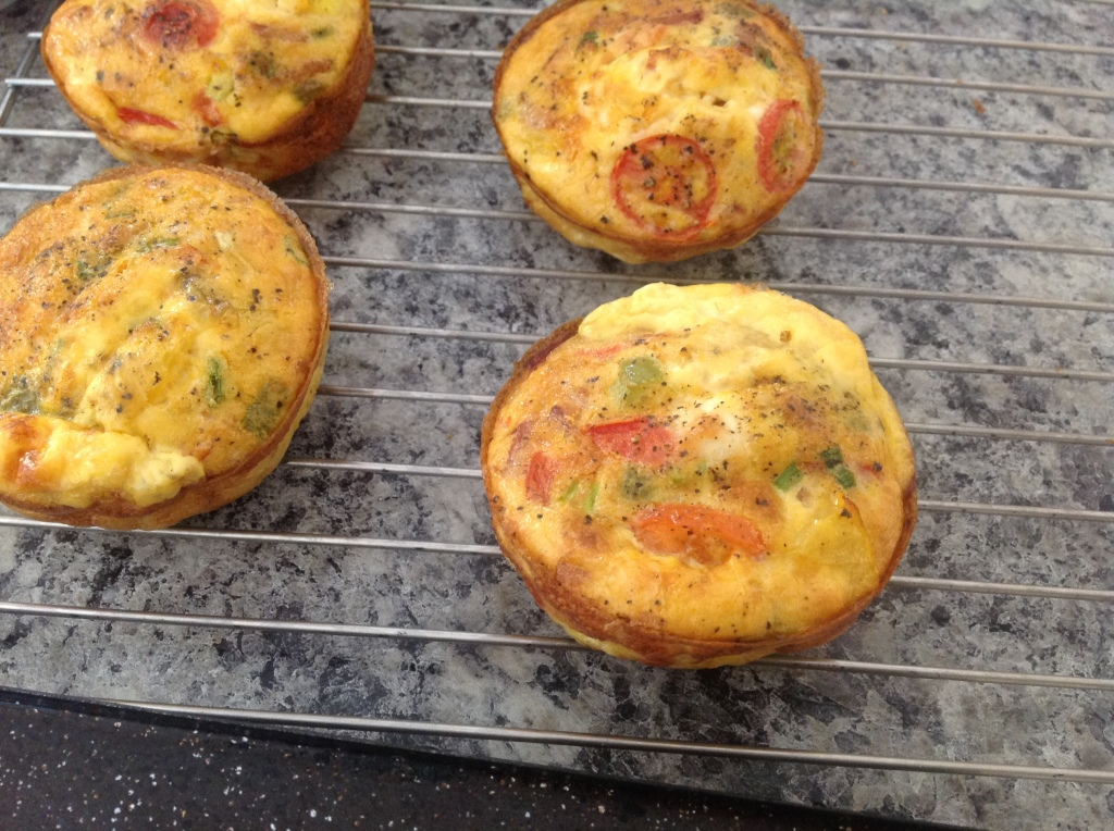 Paleo Frittata Cups - Nothing in Particular
